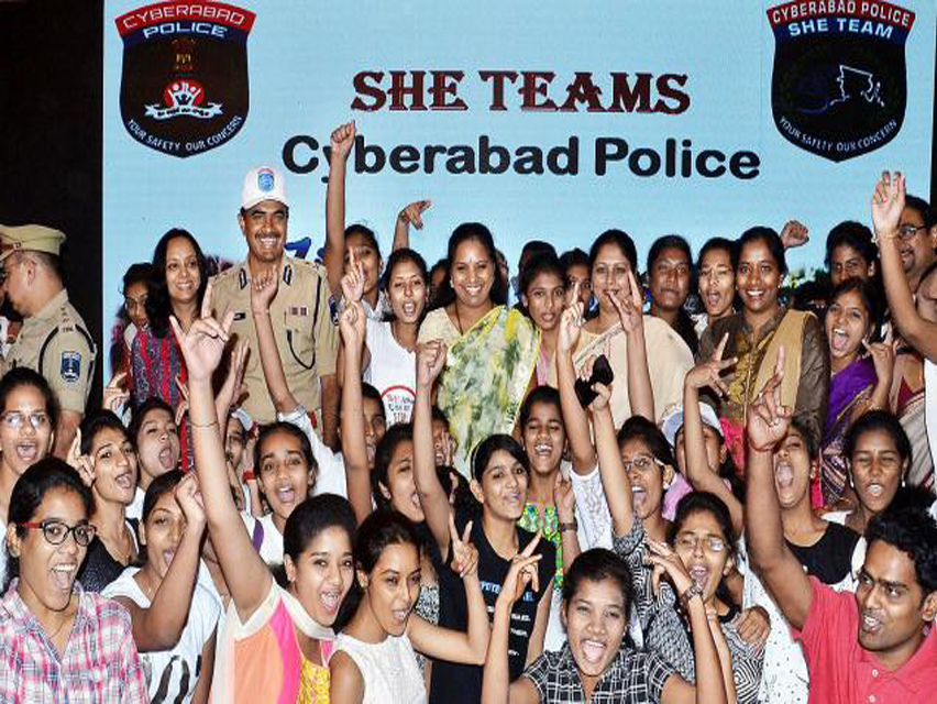 SHE Team identifies 15 Criminal Cases in 15 Days